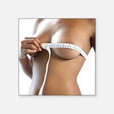 Measuring bra size - Square Sticker 3