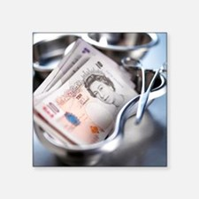 Medical costs - Square Sticker 3