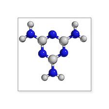 Melamine molecule - Square Sticker 3