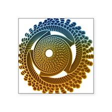 Nano turbine - Square Sticker 3