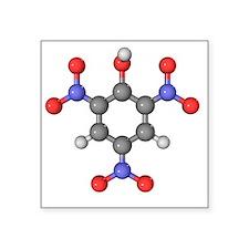Picric acid explosive molecule - Square Sticker 3
