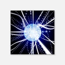 Quantum sphere - Square Sticker 3