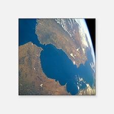 Strait of Gibraltar, satellite image - Square Stic