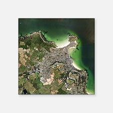 St Ives, Cornwall, UK, satellite image - Square St
