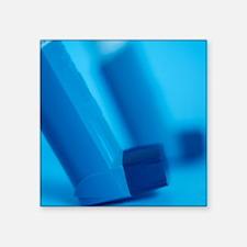 Asthma inhalers - Square Sticker 3