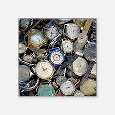 Broken wrist-watches - Square Sticker 3