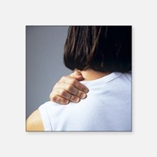 Back pain - Square Sticker 3