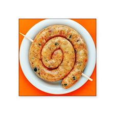 Coiled sausage - Square Sticker 3