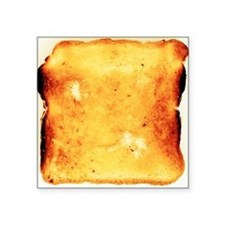 Buttered toast - Square Sticker 3