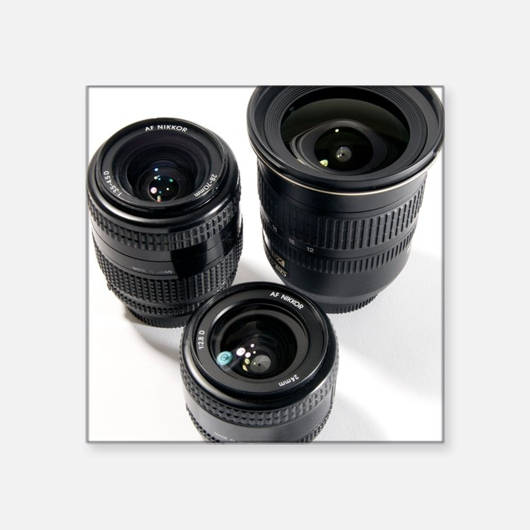 Camera lenses - Square Sticker 3