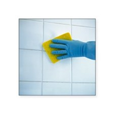 Ceramic tile cleaning - Square Sticker 3