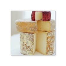 Cheese selection - Square Sticker 3