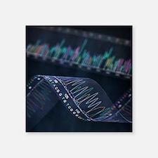 DNA analysis - Square Sticker 3