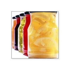 Food in jars - Square Sticker 3