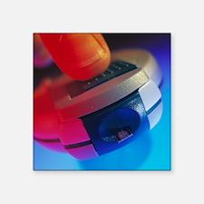 Blood glucose tester - Square Sticker 3