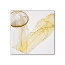Condom - Square Sticker 3