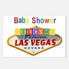 LV Baby Shower Postcards pkg of 8
