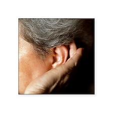 Hearing loss - Square Sticker 3