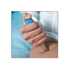 Insulin injection - Square Sticker 3