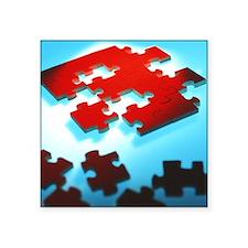 Jigsaw puzzle - Square Sticker 3