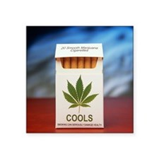 Legal marijuana - Square Sticker 3