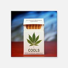 Legal marijuana - Square Sticker 3