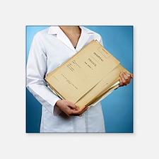 Medical records - Square Sticker 3