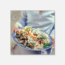 Seafood plate - Square Sticker 3