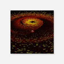 Alien planet forming - Square Sticker 3