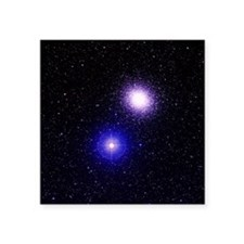 Globular cluster M5 - Square Sticker 3