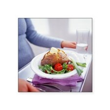 Healthy meal - Square Sticker 3