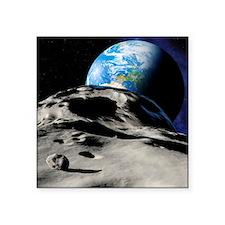Near-Earth asteroid - Square Sticker 3