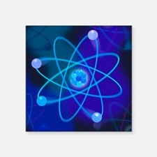 Atomic structure - Square Sticker 3