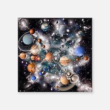 Solar system planets - Square Sticker 3