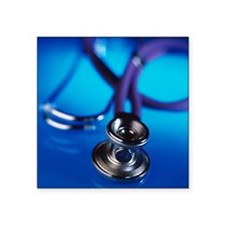 Stethoscope - Square Sticker 3