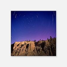 Star trails - Square Sticker 3
