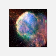 Supernova remnant IC 443, composite image - Square