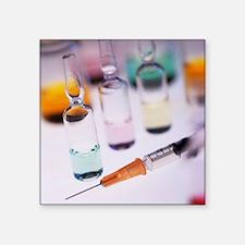Vaccination research - Square Sticker 3