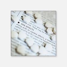Zantac pills - Square Sticker 3