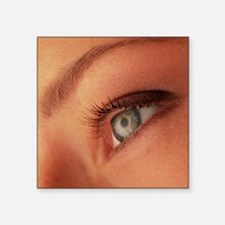 Woman's eye - Square Sticker 3