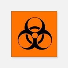 Biohazard sign - Square Sticker 3