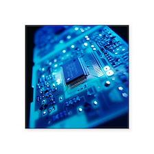 Computer circuit board - Square Sticker 3