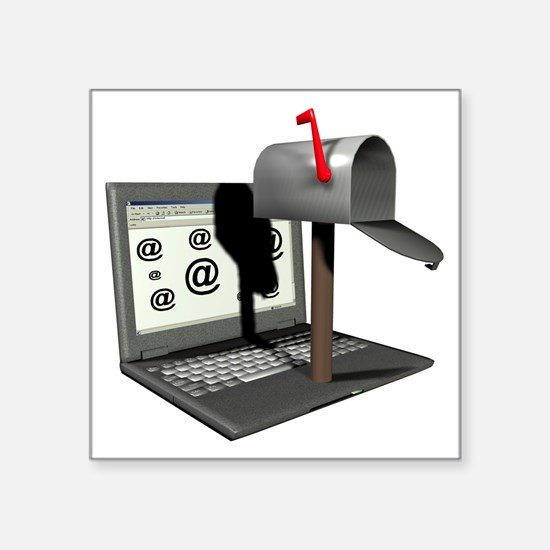 Email - Square Sticker 3