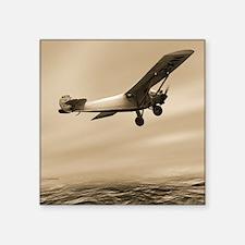 First solo transatlantic flight, 1927 - Square Sti