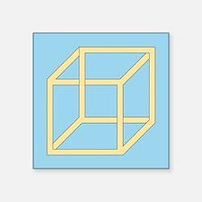 Freemish crate - Square Sticker 3