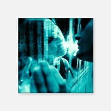 Online relationship - Square Sticker 3