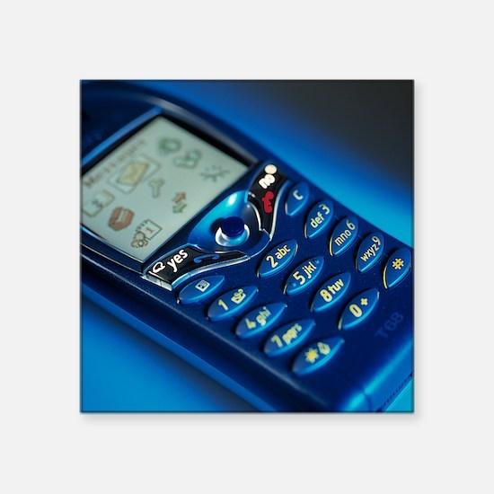 Mobile phone - Square Sticker 3