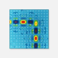 Photonic crystal waveguide - Square Sticker 3