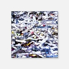 Shredded documents - Square Sticker 3
