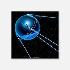 Sputnik 1 satellite - Square Sticker 3